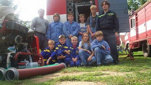 Z archivu liběšických hasičů.