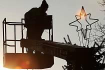 Zdobení vánočního stromu v Litoměřicích