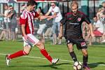 Česká fotbalová liga, Jirny - Brozany.