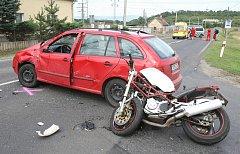 Tragická dopravní nehoda u Doksan.