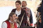 Sobotní dopoledne na Josefínských slavnostech v Terezíně