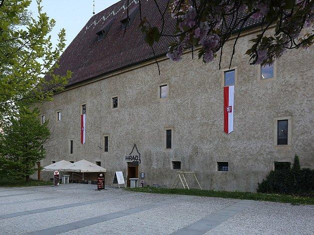 Gotický hrad v Litoměřicích.