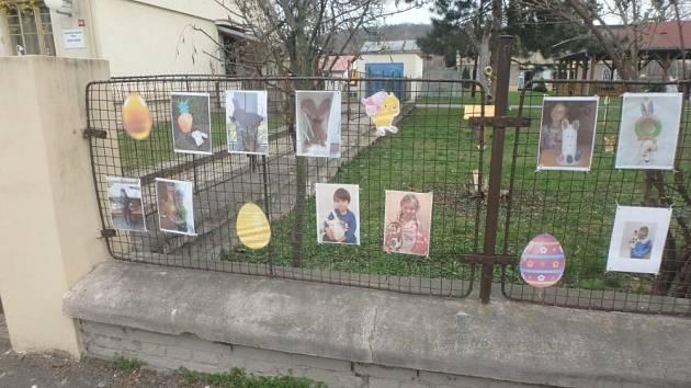 Výstava žáků litoměřické základní školy.