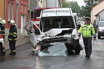 Dopravní nehoda v Žalhosticích, středa 7.5.2014