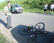 Nehoda u Siřejovic.