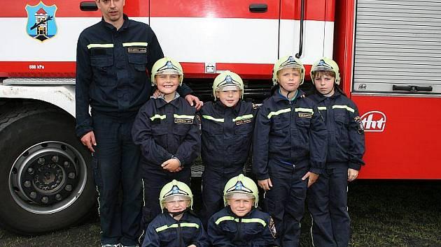 Z archivu štětských dobrovolných hasičů.
