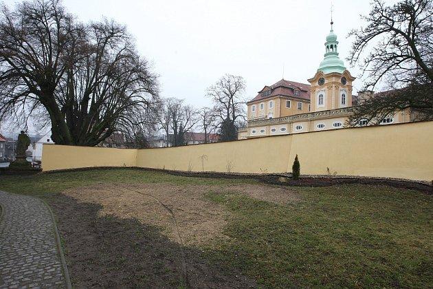 Domov na zámku vLiběšicích