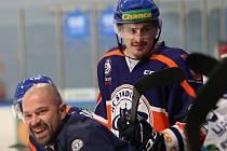 Hokejový zápas Litoměřice a Benátky, 23. kolo Chance ligy 2018/2019, Stadion Litoměřice ilustrační