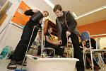 Školáci poměřili síly v technických hrách.