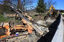 Uzavírka mostu v Chodovlicích na Lovosicku skončila