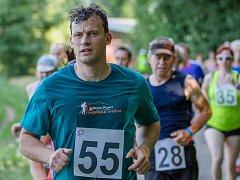 Pavel Procházka na trati běhu.