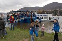 VE VAŇOVĚ. Pravidelné turistické jízdy po Labi z Ústí do Litoměřic a zpět letos zajistí loď Ústí nad Labem.