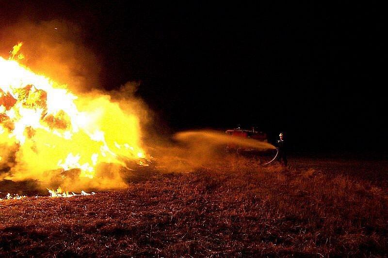 Požár v Libkovicích.