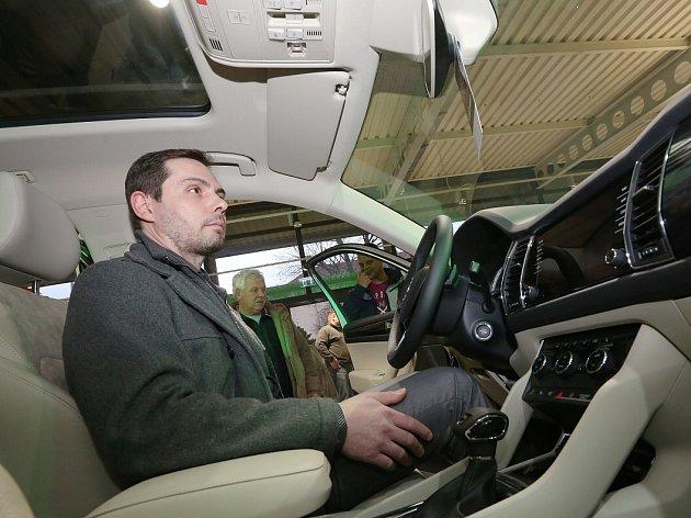 Škoda Kodiaq dorazila do Lovosic