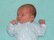 Alfred Egreši se narodil Markétě a Petru Egreši z Chotiměře  6.11. v 5.57 hodin v Litoměřicích (3,67 kg a 53 cm).