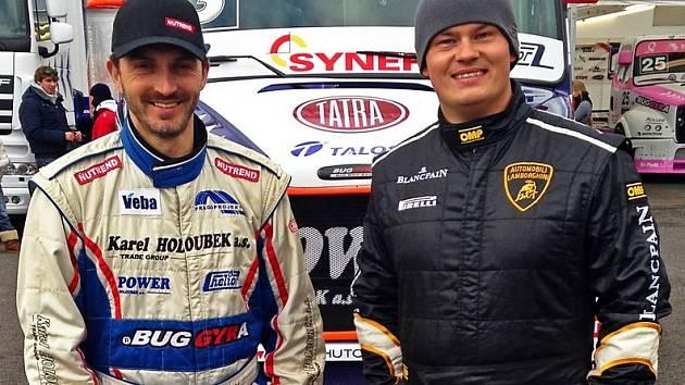 Doteď David Vršecký (vlevo) a Adam Lacko mezi sebou soupeřili, v příštím roce možná budou jezdit společně