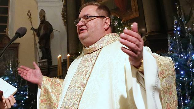 Třebenický farář Tomasz Dziedzic