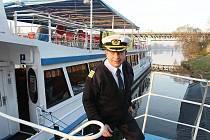 Poslední letošní plavba Porty Bohemicy 1.
