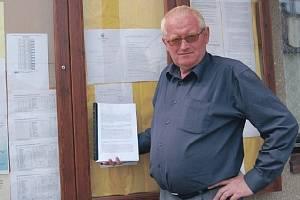 STAROSTA KRABČIC Josef Tachecí říká, že Krabčičtí mají v plánu realizovat do budoucna celkem čtrnáct projektů.