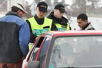 Kontroly řidičů na Třebenicku - pondělí 8.3.2010.