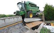 Kuriózní nehoda se stala v úterý 27.6. kolem sedmnácté hodiny v Čížkovicích.