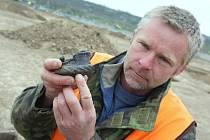 Archeologové dokončili výzkum na stavbě pily ve Štětí.