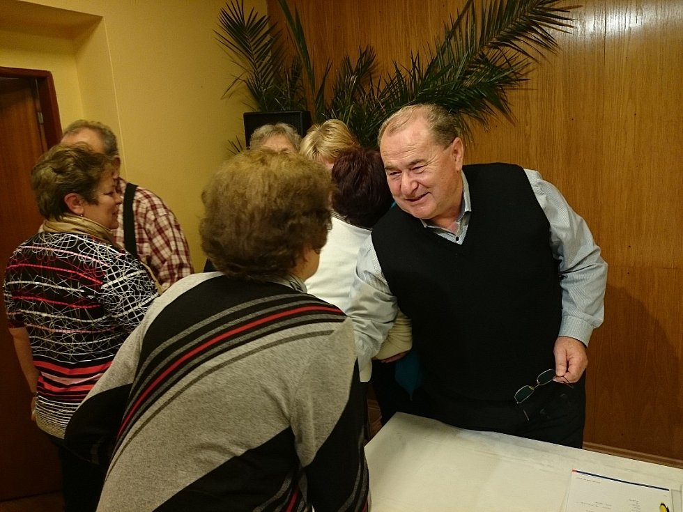 Staronový starosta Vědomic Václav Tyl.