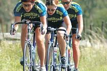 STŘÍBRO. Výběr roudnické cukrárny Siesta zajel letošní Giro de Zavadilka parádně, v kategorii žen obsadil druhou příčku.