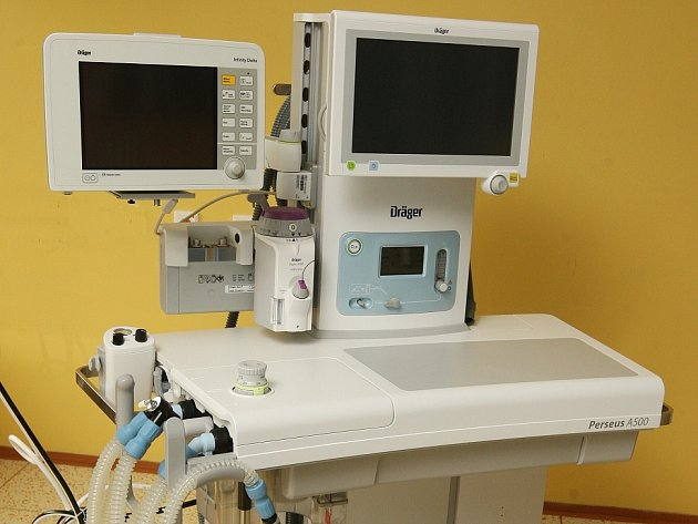 Anesteziologický přístroj Perseus A500