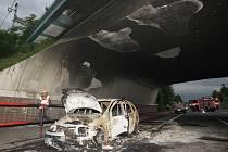 Nehoda automobilu v Lovosicích