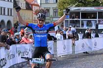 MTB Tour České Středohoří 2019. Vítěz Vít Řehák.