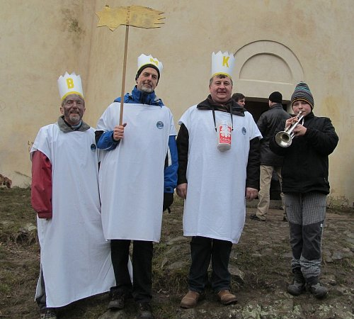 Tři králové na Řípu