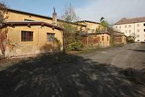 Současný stav bývalých kasáren pod Radobýlem