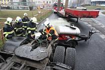 Nehoda v Lovosicích