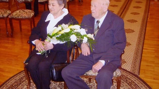 Manželé Antonín a Zdena Michlovi z Roudnice nad Labem