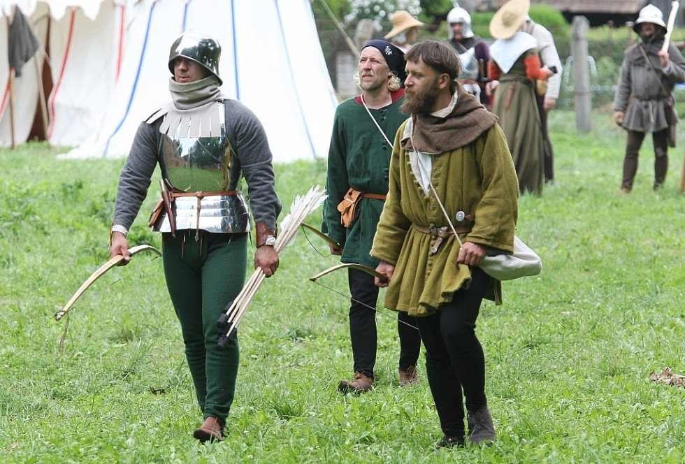 Historická bitva v Budyni nad Ohří.