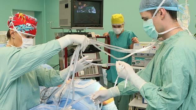 Městská nemocnice v Litoměřicích by v letošním roce měla investovat do dokončení centrálních operačních sálů. V Podřipské nemocnici v Roudnici proběhne rekonstrukce centrální JIP.