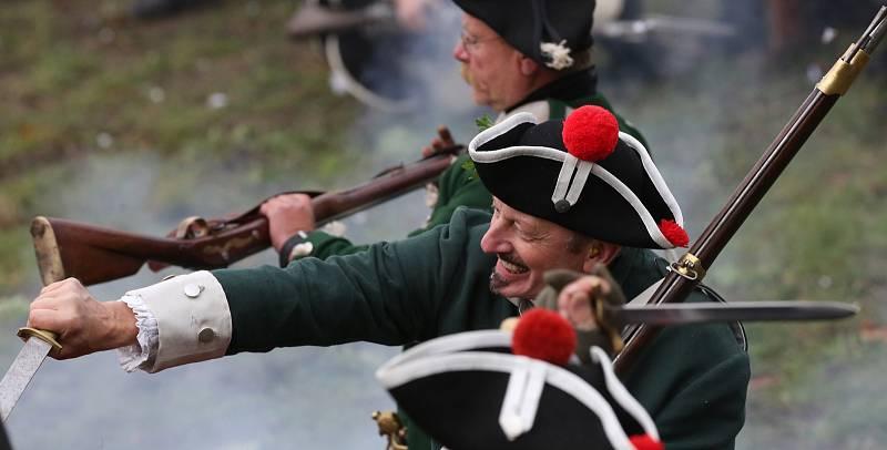 Odpolední bitva na Josefínských slavnostech.
