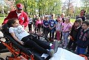 Na dopravním hřišti proběhla tradiční akce složek IZS pro základní školy.