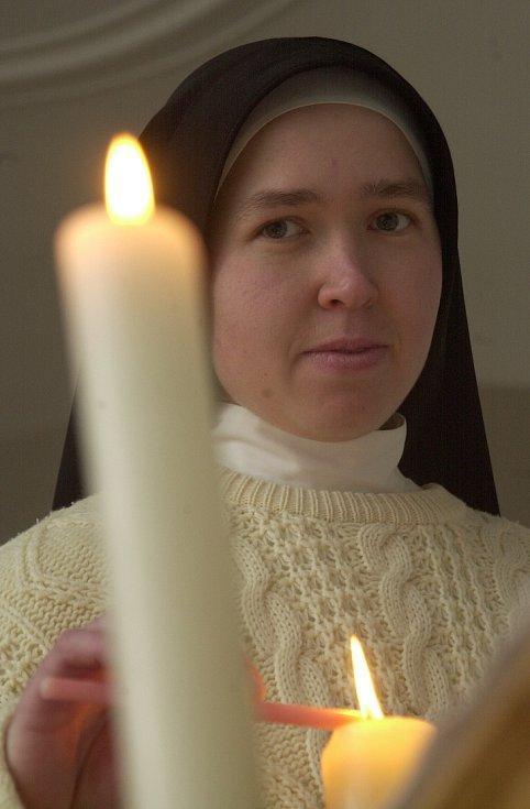 20 let obnovy řeholního života sester premonstrátek v Doksanech (31. ledna 2018).