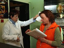 Kontrola hygieny v restauraci, ilustrační foto.
