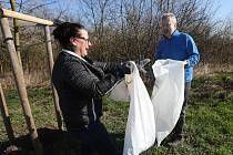Celonárodní akce Úkliďme Česko se v Litoměřicích zúčastnil i ministr životního prostředí Richard Brabec, který zde bydlí.