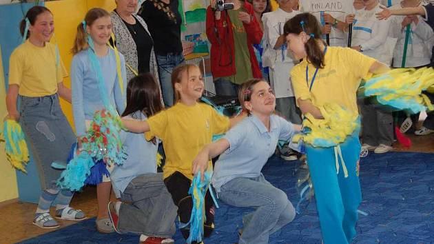 Školáci slavili Den Evropy