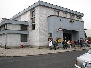 Kino Sokol v Roudnici nad Labem.