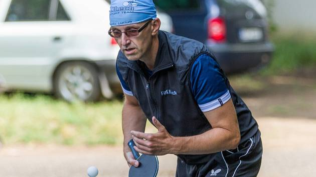 Loňský vítěz Pavel Vaníček.