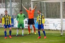 Fotbalisté FK Litoměřicko podlehli na hřišti Loko Vltavín 3:0.