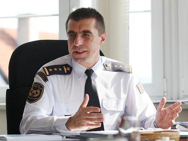 Ředitel Územního odboru hasičského záchranného sboru ČR vLitoměřicích Pavel Grund.