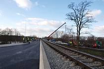 Opravy mostu přes Labe ve Štětí během zimy stavebníci přeruší