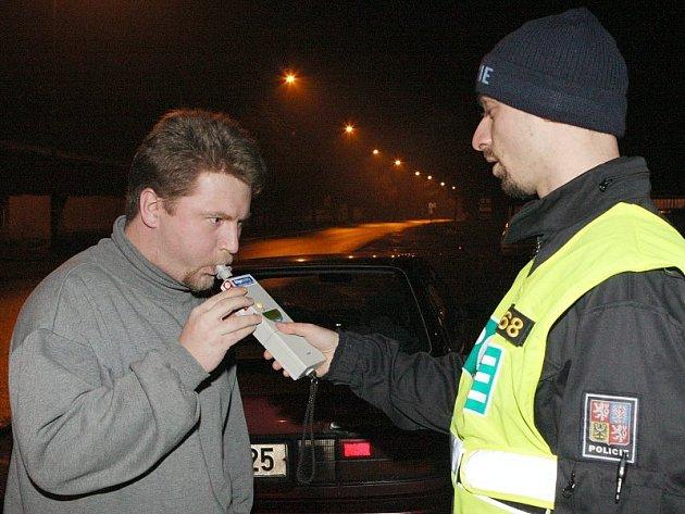 Dopravně bezpečnostní policejní akce na Litoměřicku (noc z pátku 23. 1. na sobotu 24. 1.).