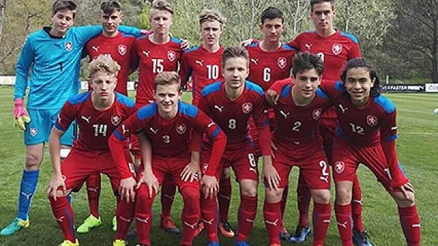 Reprezentace ČR U15 sehraje v Brozanech duel s Irskem.